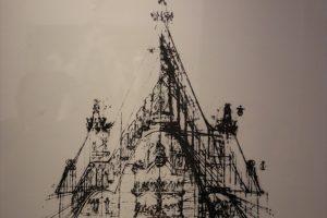 【スペイン写真】サグラダ・ファミリアの構造